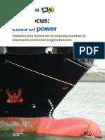 Risk Focus - Loss of Power