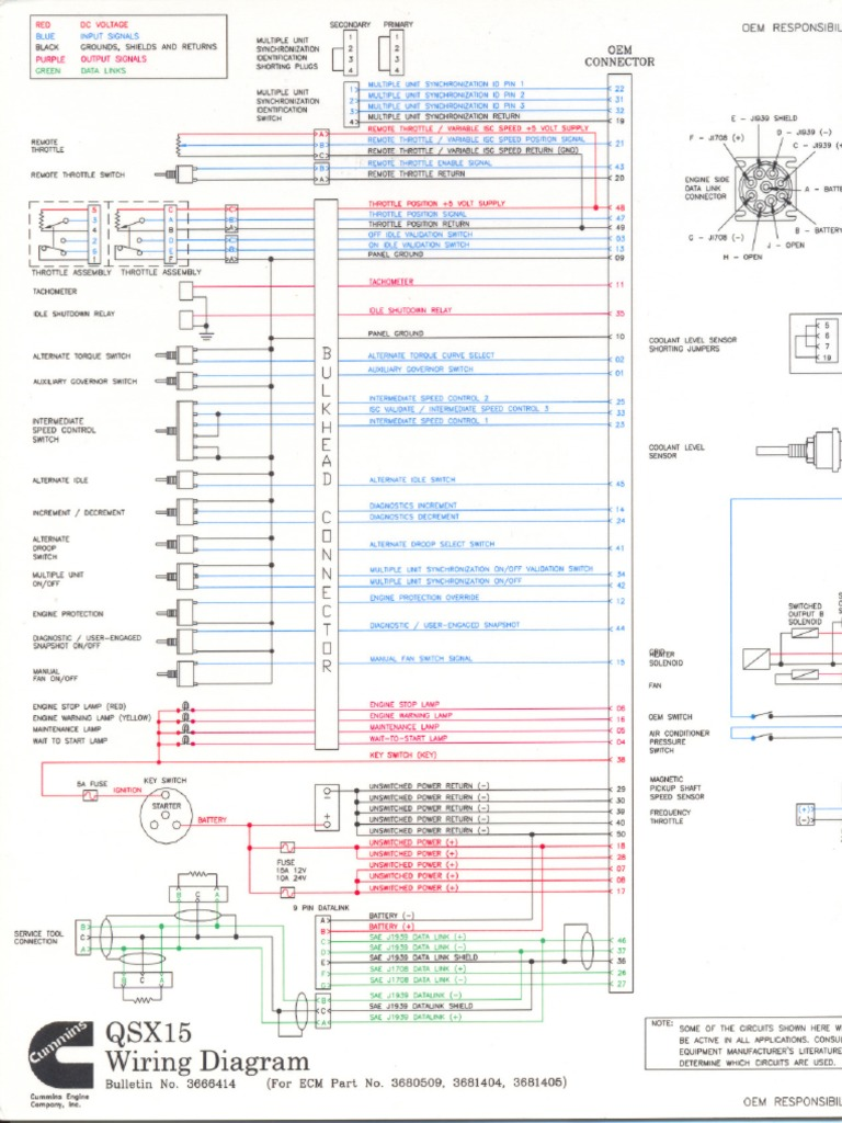 Cummins Isx Wiring Diagram Pdf