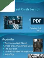 Wall Street Crash Session