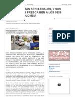 LAS FOTOMULTAS SON ILEGALES, Y SUS FUNDAMENTOS PRESCRIBEN A LOS SEIS MESES - EN COLOMBIA_ PROCEDIMIENTO PARA NO PAGARLAS (es, sencillamente, apegarse a lo que dice la Ley).pdf