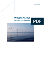 Wind Energy - The Case of Denmark