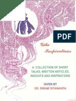 Gita Inspirations by Dr. Swami Gitananda Giri
