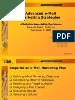 Advanced EMail Strategies