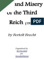 Fear and Misery of the Third Reich - Bertolt Brecht