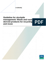 Guidelines Stockpile