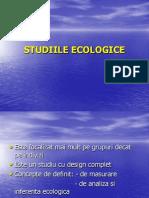 STUDIILE ECOLOGICE.ppt