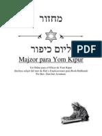 portada del majzor de kipur.pdf