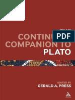Continuum Companion to Plato
