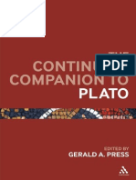 Continuum Companion to Plato