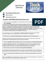 2014 data reflection form