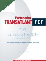 Projet de partenariat transatlantique - Etude par Jacques NIKONOFF
