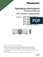 Panasonic DW740 User English