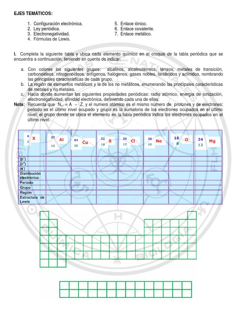 Plan mejoramiento qumica 7th segundo periodo 2014pdf urtaz Choice Image