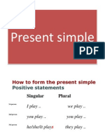 PRESENT SIMPLE RULES.BLOG.ppt