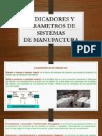 Indicadores y Parametros de Sistemas de Sistemas de Manifactura