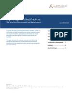 Log Management Best Practices