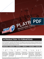 Flag Football Offensive Football Playbook