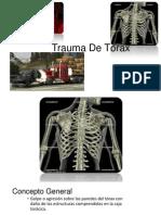 Trauma De Tórax.ppt