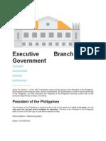 Art. 7 Executive Department