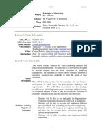 UT Dallas Syllabus for ba3365.003.09f taught by Yunzeng Wang (yxw067000)