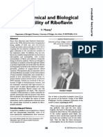 The chemical and biological versatility of Riboflavin.pdf