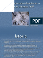 Asepsia, antisepsia si dezinfectia in sectia de chirurgie OMF.ppt