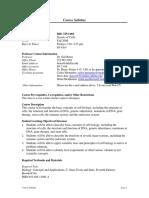 UT Dallas Syllabus for biol3351.001.09f taught by Gail Breen (breen)