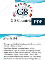 g 8,g 10 & g 15 Countries