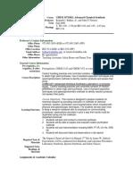 UT Dallas Syllabus for chem3471.002.09f taught by Kenneth Balkus (balkus, ferraris)