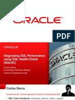 Diagnosing SQL Performance Using SQL Health-Check (SQLHC)