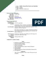 UT Dallas Syllabus for cs4349.001.09f taught by Sergey Bereg (sxb027100)