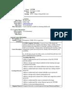 UT Dallas Syllabus for cs5390.002.09f taught by Jorge Cobb (jcobb)