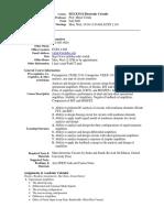 UT Dallas Syllabus for ee3311.001.09f taught by Murat Torlak (torlak)