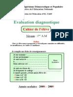 evaluation_diagnostique_cahier_de_l'eleve_1ere_annee_moyenne (1).doc
