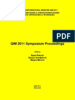QIM 2011 Symposium E-Proceedings 0