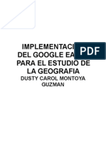 Google Earth en Clase de Geografía