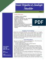 premier irrigation newsletter volume 10
