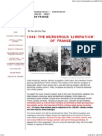 1944 - The Murderous 'Liberation' of France