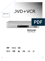 Dvd and Vcr Manual Rf
