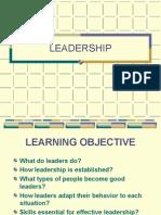 Leadership -Applied Theory