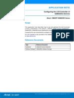 Atmel 32 Bit Cortex A5 Microntroller Configuring the LCD Controller SAMA5D31 SAMA5D33 SAMA5D34 SAMA5D36