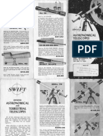 Swift Telescope Manual