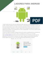 desarrolladores para android.docx