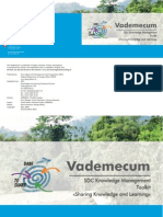 SDC KM Toolkit Vademecum