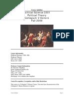 UT Dallas Syllabus for psci3301.001.09f taught by Edward Harpham (harpham)