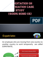 Repatriation Case Study