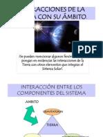 INTERACCIONES DE LA TIERRA CON SU ÁMBITO..ppt