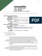 UT Dallas Syllabus for psy4331.001.09f taught by Karen Prager (kprager)
