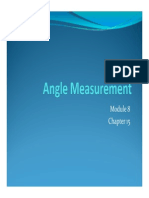 Lecture 7 Angle Measurement 2012