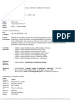 UT Dallas Syllabus for se4367.001.09f taught by Joao Cangussu (jwc021000)